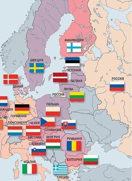 Русские в Европе