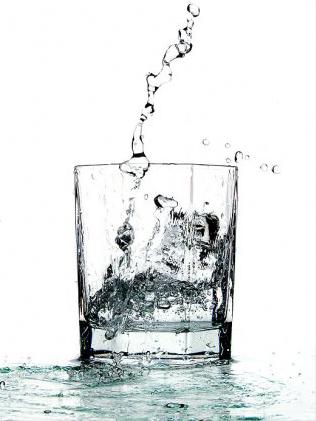 Вода с антибиотиками