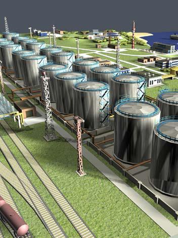 Новое нефтехранилище на Кипре