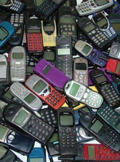 Старые мобильники – в утиль