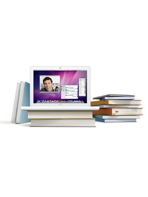 Ноутбук вместо учебников